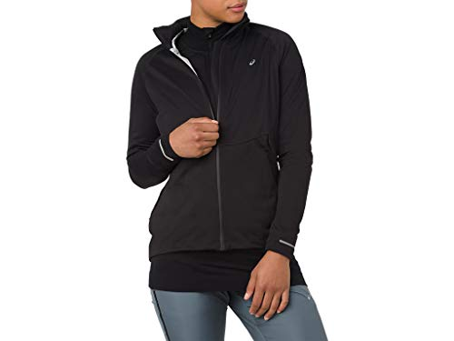 ASICS 2012A018 Women's System Jacket, Performance Black, Large by ASICS (Image #1)