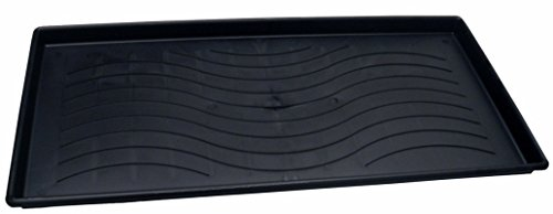 Dial Industries 22304 Large Black Plastic Boot & Utility Tray (Utility Tray Large)