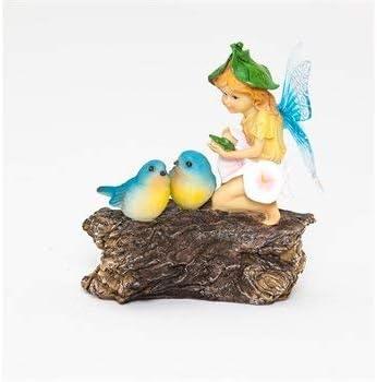 New Creative Mini Garden Fairy Statue with Sign