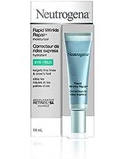 Neutrogena Anti Aging Eye Cream for Rapid Wrinkle Repair with Retinol, 14 mL