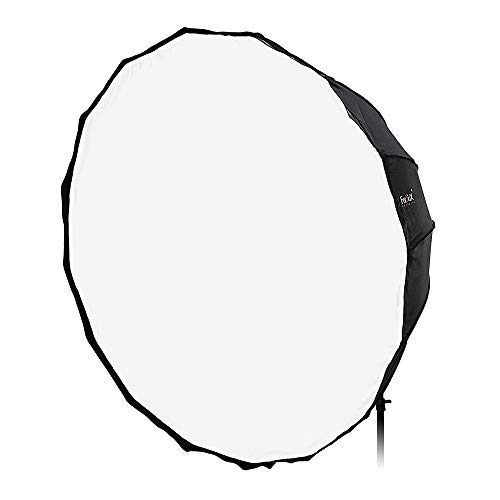 Fotodiox Deep EZ-Pro 60in (150cm) Parabolic Softbox - Quick Collapsible Softbox with Photogenic Speedring for Photogenic and Compatible
