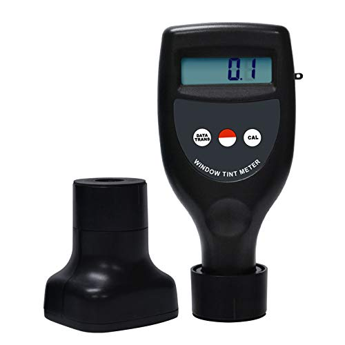 Wireless Window Tint Meter 0-100% Handheld Visible/UV/Infrared Light Transmittance Transmission Measuring Gauge Tester Transparency, for Car Automobile Glass Plastics Water Drinks