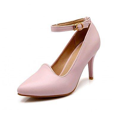 Polyuréthane ggx Lvyuan Décontracté Beige Automne Boucletalon Printemps À Nouveauté Femme Chaussures Marche Confort Habillé Talons 0rdU0qw4