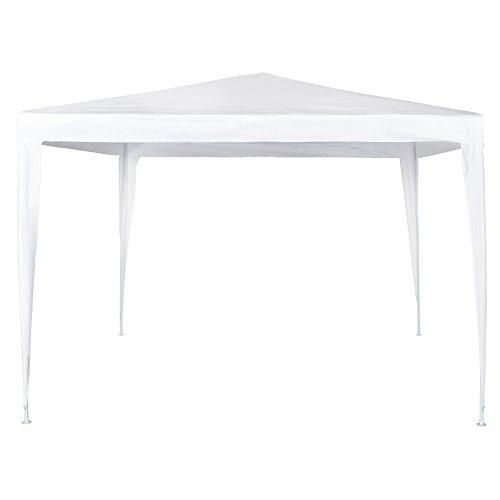 Aktive – Tonnelle de 300 x 300 x 240 cm, Plastique, Blanc (COLORBABY 53857)