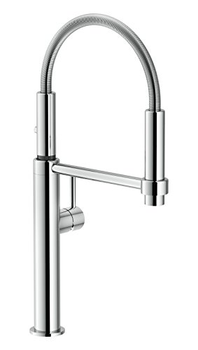 Franke FF4400 Pescara Single Handle Pull-Down Kitchen Faucet, 18.125 inch Ultra-Tall high arc, Polished Chrome