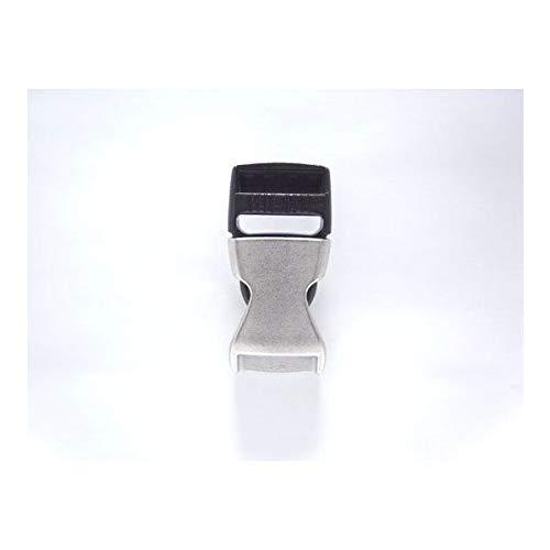 100個セット NIFCO ニフコ ZSR25ASL 金属 バックル マットシルバー 25mm巾用 ベルトの長さ調節などに 100個セット  B07K25V7V5