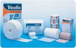 Sammons Preston Full Arm Lymphedema Bandaging Kit, 1 Roll Tricofix, 2 Rolls Artiflex, 1 Bag Elastomull, 5 Rolls Comprilan & Paper Tape, Compression Wraps Reduce Edema & Pain from Swelling by Sammons Preston