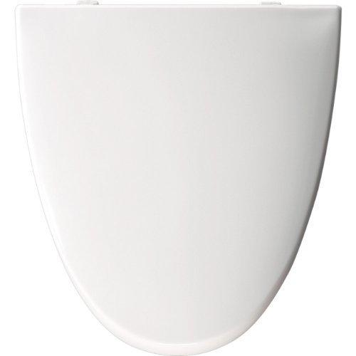 Church EL270 000 Elongated American Standard Toilet Seat, White by Bemis