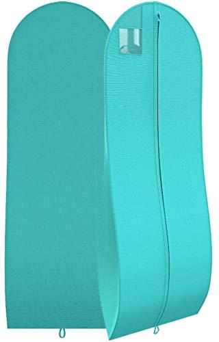 "(Women's Long Dress Bag – Breathable Wedding Gown Garment Bag -72x24"", 10"" Gusset)"