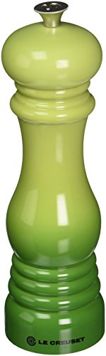 Le Creuset Classic Adjustable Pepper Mill Grinder Chip-resistant ABS Plastic Soleil 40g Anti-Corrosion