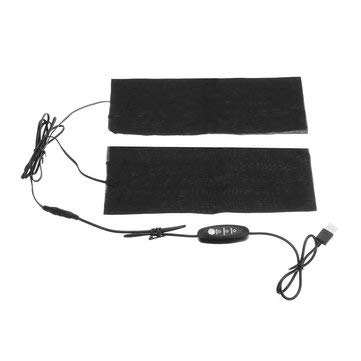 9W 3 Gear Thermostat Mode USB Electric Heating Pads Thermal Trousers Knee Heated Washable - Motorcycle Motorcycle Clothes