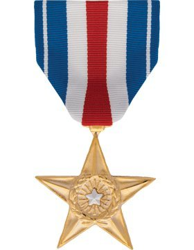 ML-F1140, Silver Star, Full Size MEDALS