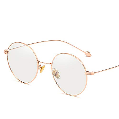 CAOXN Intelligent photochromic Computer Glasses, Unisex UV400/UV/blue Blocking Sunshade Sunglasses, Computer Mobile Phone Goggles,rosegoldframe ()