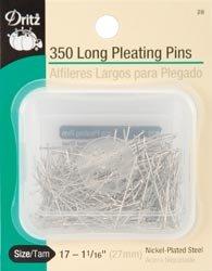 Bulk Buy: Dritz Pleating Pins Size 17 350/Pkg 28 (6-Pack) by Dritz