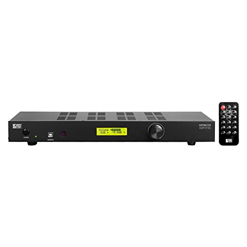 SMP500DSP High Power Subwoofer Amplifier 400W RMS/1000W Peak