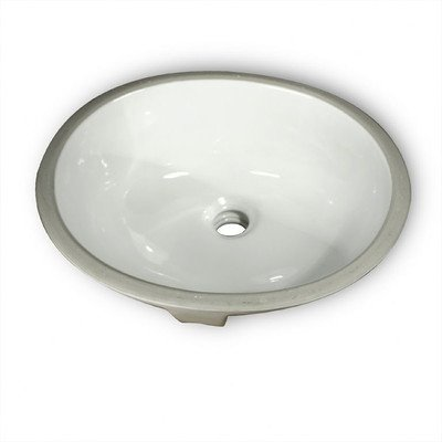 Oval Glazed Ceramic Bathroom Sink Oval Glazed