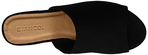 10 Femme Pantolette Trend Noir Bianco 21 49118 Mules Black C78z6qw