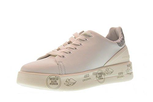 Femme avec Baskets Basses PREMIATA Forme 3014 Belle Plate Chaussures Hwqf454T