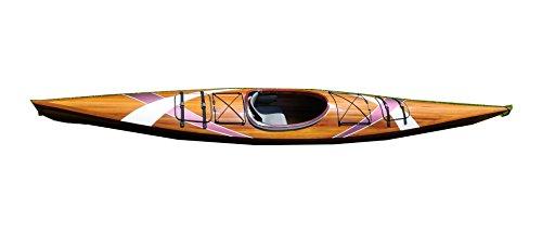 Old Modern Handicrafts Kayak with 2 Stripes, 15-Feet