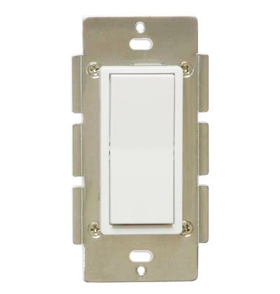 ZWP Z-Wave Add On Auxiliary Switch for Three Way and Four Way Smart Lighting Control - NOT A STANDALONE SWITCH - Works with Dimmer or On/Off