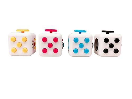 Desk Toy Fidget Cube Relieves Anxiety Stress Puzzle Toy 4