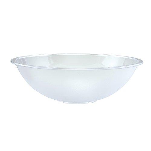 [Winco PBB-15 Polycarbonate Pebbled Bowl, 15.75-Inch Diameter] (Polycarbonate Salad Bowl)