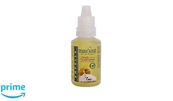 Ampolla para el pelo seco de Mayoliva- tratamiento intenso para recuperar el pelo 20ml: Amazon.es: Belleza