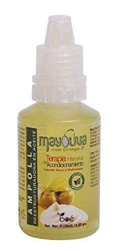 Ampolla para el pelo seco de Mayoliva– tratamiento intenso para recuperar el pelo 20ml