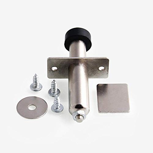 MeterMall Stainless Chrome Door Popper Car Bumper Fender Quick Release Fastener