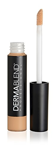 Dermablend Smooth Liquid Concealer Makeup for Medium To Full Coverage With Matte Finish, 5 Shades, Nutmeg/medium, 0.2 Fl. Oz.