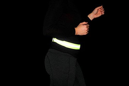 Reflective Running Belt, PT Belt - Road ID High Visibility Runners Belt
