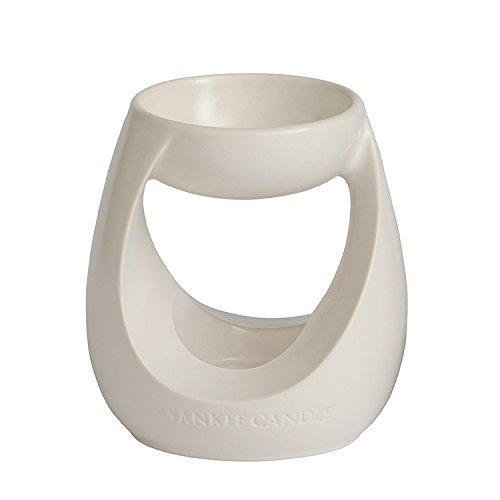 Yankee Candle 1317189 Duftlampe, 11,60 x 11,70 x 130 cm, Keramik, weiß