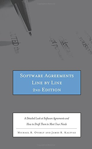 Software Agreements Line by Line, 2nd ed.: A