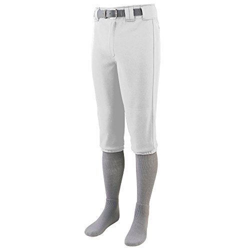EN'S SERIES KNEE LENGTH BASEBALL PANT M White (Knee Length Baseball Pants)