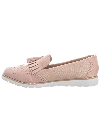SheLikes , Damen Mokassins Pink (GG753)