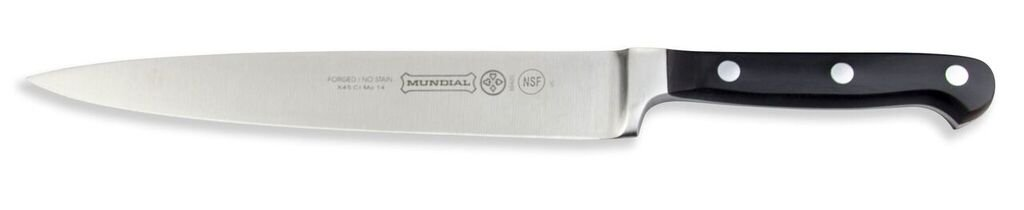 Mundial 5100 Series 8-Inch Carving Knife, Black