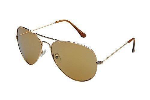 Alpland - Gafas de sol - para hombre marrón marrón: Amazon ...