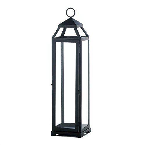 Extra Large Lean & Sleek Candle Lantern by Gallery of Light