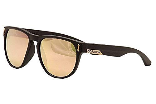 - Dragon Sunglasses - Marquis / Frame: Matte Black Lens: Rose Gold