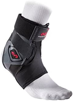 McDavid Bio-Logix Ankle Brace – Sprain prevention/Recovery, physical Therapy, Great comfort and Support, Memory Foam Construction, Competition Grade performance and protection -  perfect for Basketball, Volleyball, Football, Soccer and More.