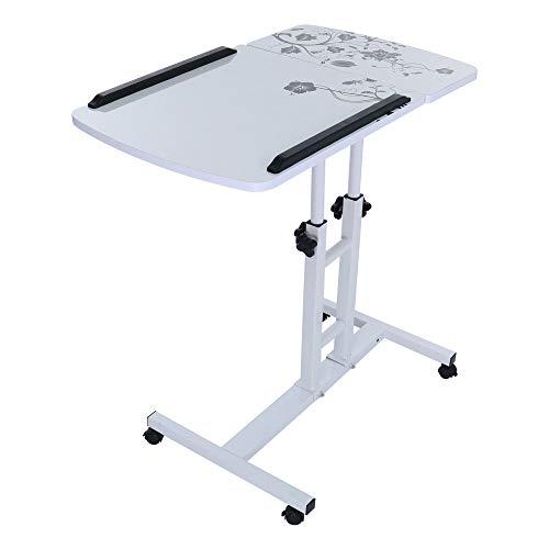 Computer Desk Yetou Mobile Laptop Desk cart Projector Bracket Bedside Table Computer Bracket Table ()