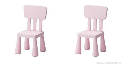 Amazon.com: IKEA MAMMUT de la silla de los niños, luz Pink ...