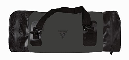 Built U.S.A. Seattle Sports Wet/Dry TopLoader Duffle Bag, Medium, Black