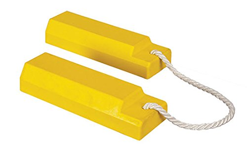 Airplane Chocks - AC3500 Series; Length: 18''; Width: 5''; Height: 3''; Lanyard: 24''; Color: Yellow by Beacon World Class Products (Image #2)