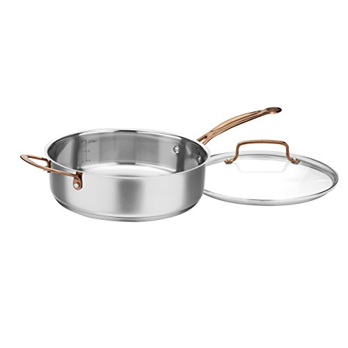 Cuisinart C7M-8RG Stainless Set, Rose Gold (8-Piece)