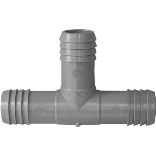 (Genova Products C351410 1-Inch Plumbing/Irrigation Poly Insert Pipe Tee - 10 Pack)