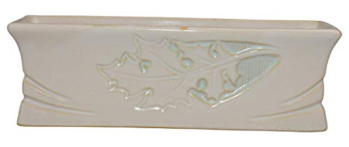 Roseville Pottery Silhouette White Planter 768-8 ()