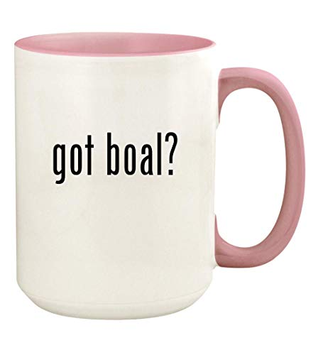 got boal? - 15oz Ceramic Colored Handle and Inside Coffee Mug Cup, Pink (Augusto Boal Games For Actors And Non Actors)