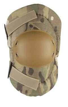 - ALTA 53010.16 AltaFLEX Elbow Protector Pad, MultiCAM Cordura Nylon Fabric, AltaGrip Fastening, Flexible Cap, Round, Coyote