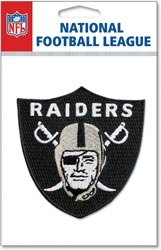 NFL Embroidered 3D Stickers OAKLAND RAIDERS - DISCONTINUED ITEM For Scrapbooking, Card Making & Craft Projects